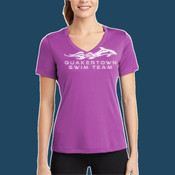 - LST353 Ladies V Neck PosiCharge™ Competitor™ Tee