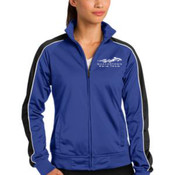 - LST92 Sport-Tek® Ladies Piped Tricot Track Jacket