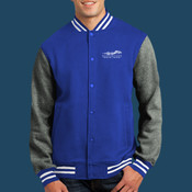 - ST270 Fleece Letterman Jacket